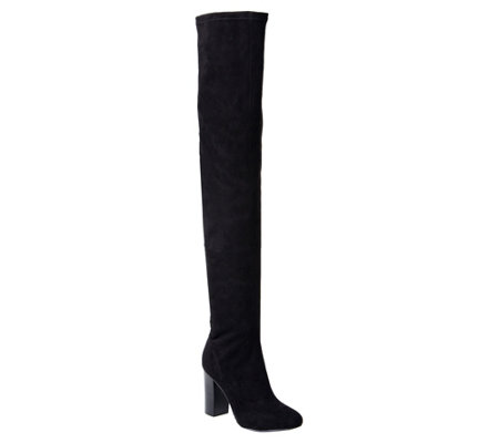 MIA Shoes Thigh-high Boots - Christa