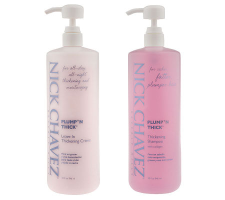 Nick Chavez Super-Size Plump'N Thick Shampoo & Conditioner