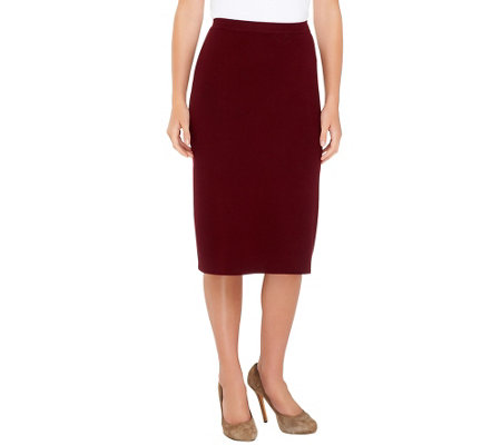 Linea by Louis Dell'Olio Whisper Knit Pencil Skirt