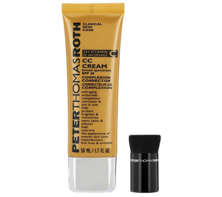 Peter Thomas Roth CC Cream with Brush, SPF 30 Auto-Delivery