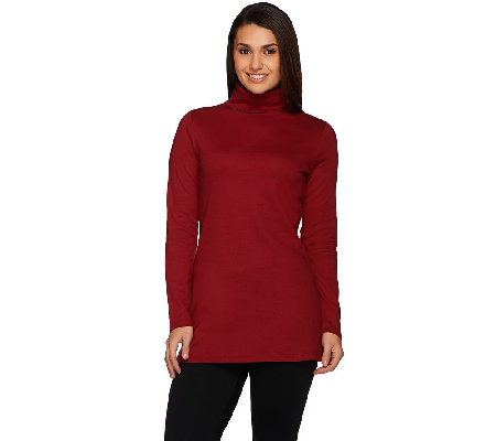 Liz Claiborne New York Essentials Turtleneck Tunic