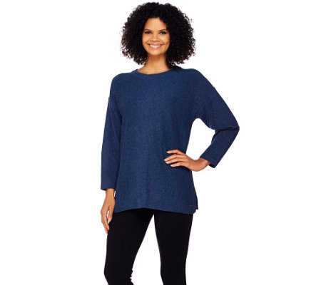 Isaac Mizrahi Live! SOHO Relaxed Pullover Sweater