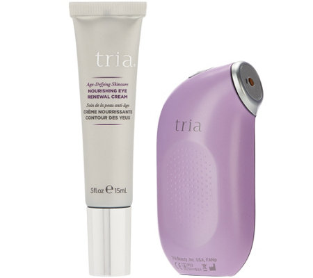 Tria Beauty Age-Defying Eye Wrinkle Laser Device w/ Eye Cream
