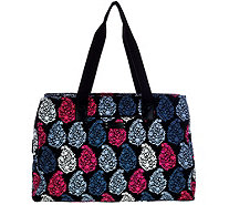 Vera Bradley Signature Print Triple Compartment Travel Bag - A278112