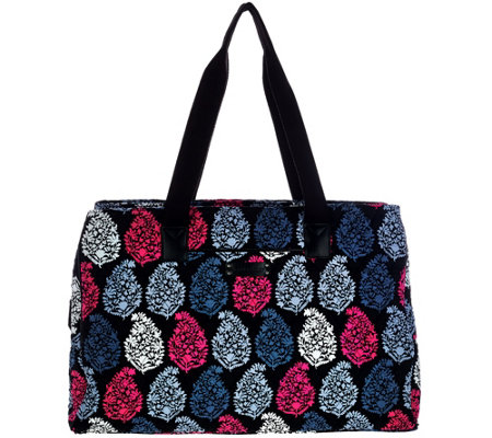 Vera Bradley Signature Print Triple Compartment Travel Bag