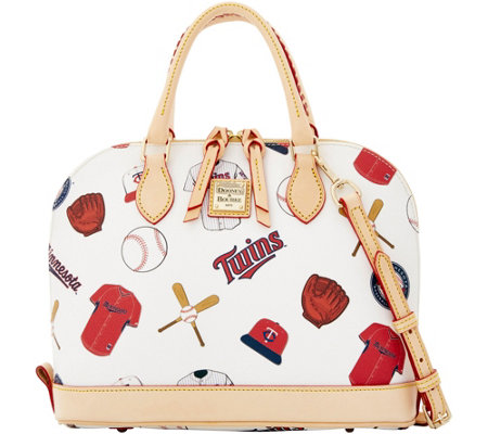 Dooney & Bourke MLB Twins Zip Zip Satchel
