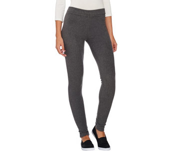 """As Is"" Cuddl Duds Fleecewear Stretch Leggings - A282012"