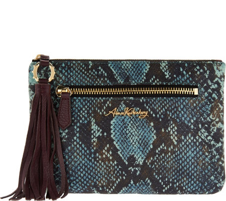 Aimee Kestenberg RFID Leather Pouch with Tassel-Florence