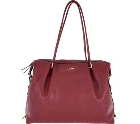 LODIS Leather All-In-One Convertible Handbag w/ RFID