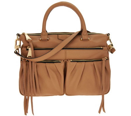 Aimee Kestenberg Leather Satchel- Tyler