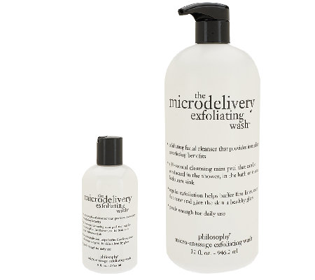 philosophy microdelivery wash home & replenishment