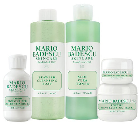 Martha Stewart & Mario Badescu Skin Care 30s 5-Piece Kit