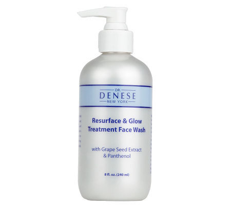 Dr. Denese Resurface & Glow Treatment Face Wash, 8 oz