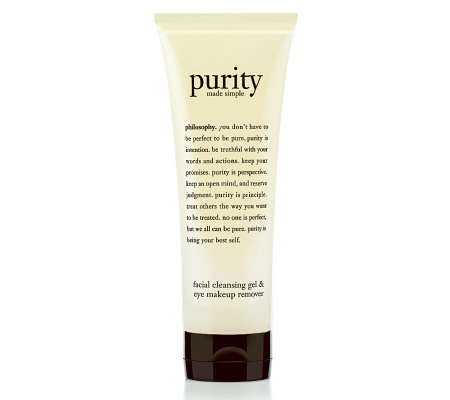 philosophy purity made simple foaming facial cleansing gel