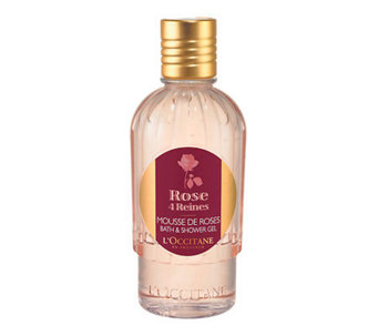 L'Occitane Rose 4 Reines Bath & Shower Gel, 8.4oz - A324212