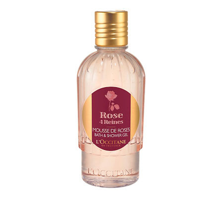 L'Occitane Rose 4 Reines Bath & Shower Gel, 8.4oz