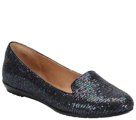 Sofft Glitter Slip-on Loafers - Belden