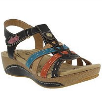 Spring Step L'Artiste Leather Sandals - Cloe - A358612