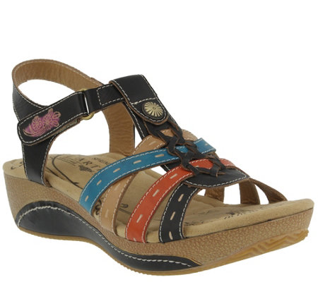 Spring Step L'Artiste Leather Sandals - Cloe