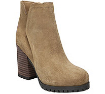 Franco Sarto Leather Ankle Boots - Maysen - A361112