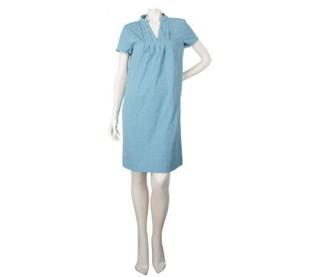 Simply. Chloe Dao Jacquard Dress with Pleated Front Panel