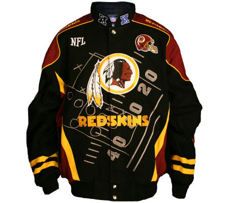 NFL Washington Redskins Scoreboard Jacket