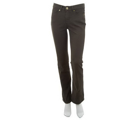 Isaac Mizrahi Live! Icon Grace Slim Boot Cut Jeans