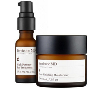 Perricone MD High Potency Eye & Face Finishing Moisturizer Duo - A273613