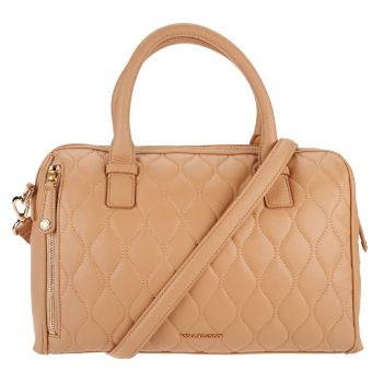Vera Bradley Quilted Leather Satchel -Marlo