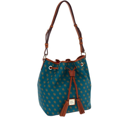 """As Is"" Dooney & Bourke Gretta Kendall Drawstring Bag"