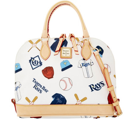 Dooney & Bourke MLB Rays Zip Zip Satchel
