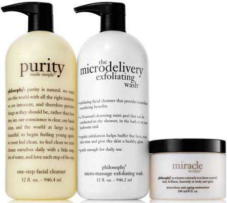 philosophy super-size skincare favorites trio