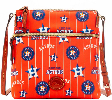 Dooney & Bourke MLB Nylon Astros Crossbody