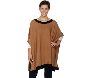 Linea by Louis Dell'Olio Whisper Knit Poncho - A282513
