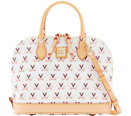 Dooney & Bourke NCAA University of Virginia Zip Zip Satchel