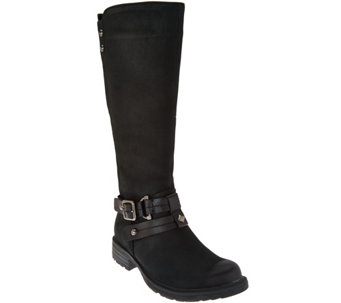 Earth Leather Tall Shaft Boots - Sierra - A284113