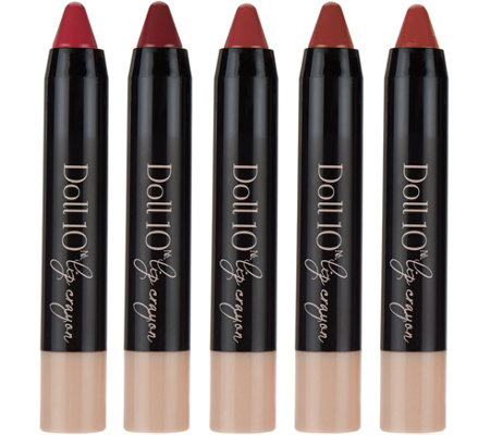 Doll 10 5-piece Lip Chubby Collection