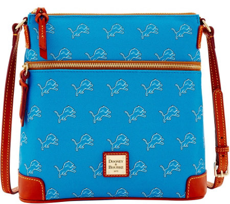 Dooney & Bourke NFL Lions Crossbody