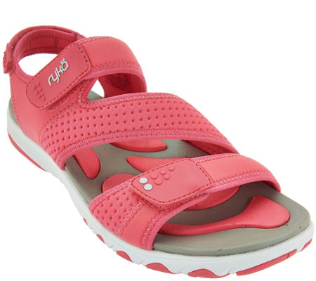 Ryka Neoprene Adjustable Sport Sandals - Dominica