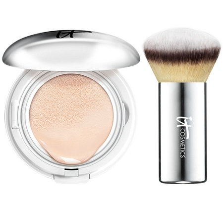 IT Cosmetics CC Veil SPF 50 Foundation Cushion Compact Auto-Delivery