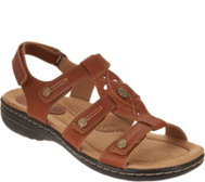 Earth Origins Leather Adjustable Sandals - Katrice