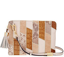 G.I.L.I. Leather Patchwork Crossbody - A289713