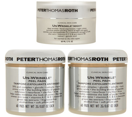 Peter Thomas Roth Super-Size UnWrinkle Night Antiaging Set