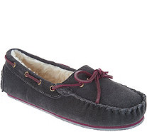 Clarks Suede Women's Moccasin Slippers - A301213