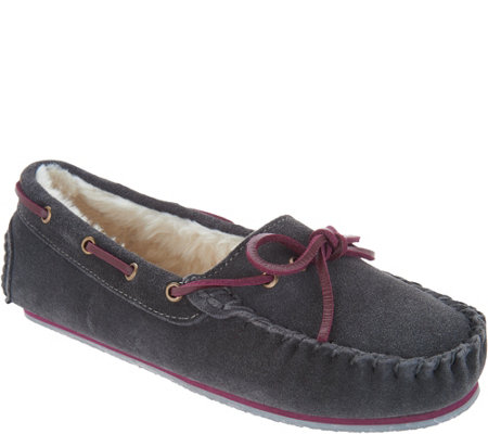Clarks Suede Women's Moccasin Slippers