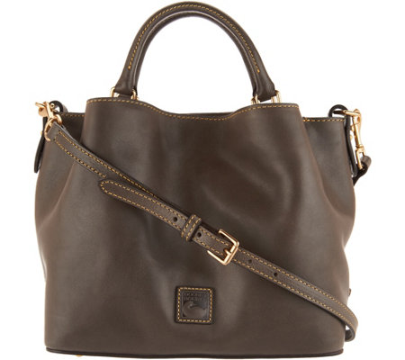 """As Is"" Dooney & Bourke Florentine Small Brenna Satchel Handbag"