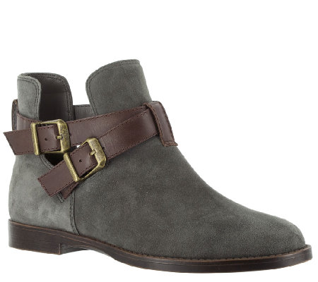 Bella Vita Leather Ankle Boots - Raine