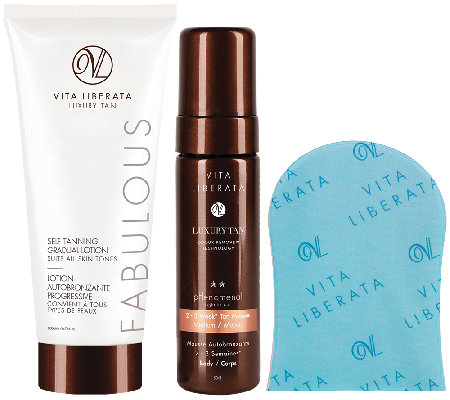 Vita Liberata Hydrating and Long Lasting Tan Kit