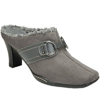 A2 Core Comfort Mules w/ Faux Shearling - Snapjack - A338413