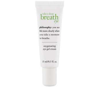 philosophy take a deep breath eye cream 0.5 oz - A339613